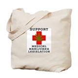 medical marijuana legalization Tote Bag