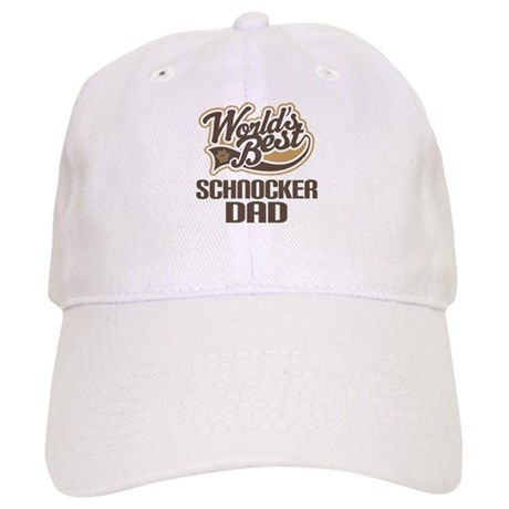 Schnocker Dog Dad Cap