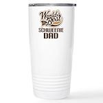 Schweenie Dog Dad Ceramic Travel Mug