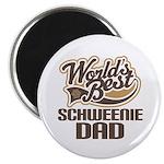 Schweenie Dog Dad Magnet