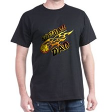 Softball Dad (flame) copy.png T-Shirt
