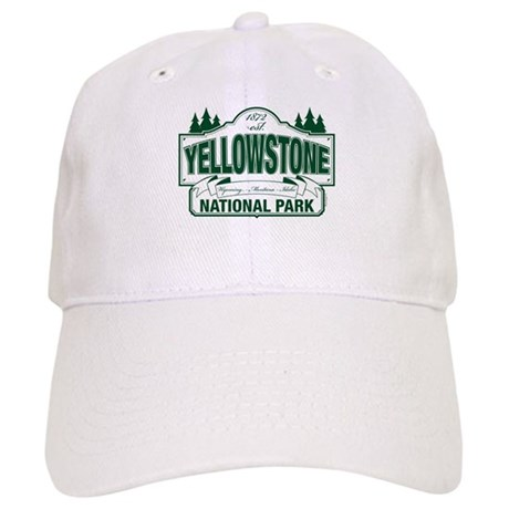 Yellowstone Green Design Cap