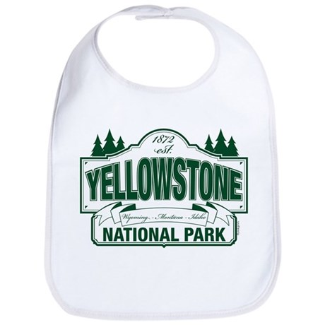 Green Yellowstone Bib