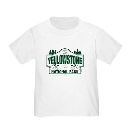 Yellowstone Green Sign Design Toddler T-Shirt