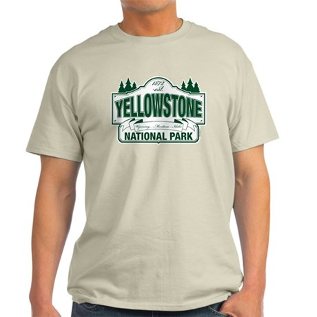 Yellowstone Green Design Light T-Shirt