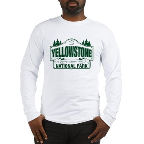 Yellowstone Green Design Long Sleeve T-Shirt