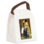 The Kiss - Two Bernese Canvas Lunch Bag