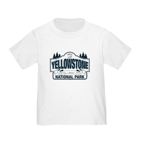 Yellowstone NP Blue Toddler T-Shirt