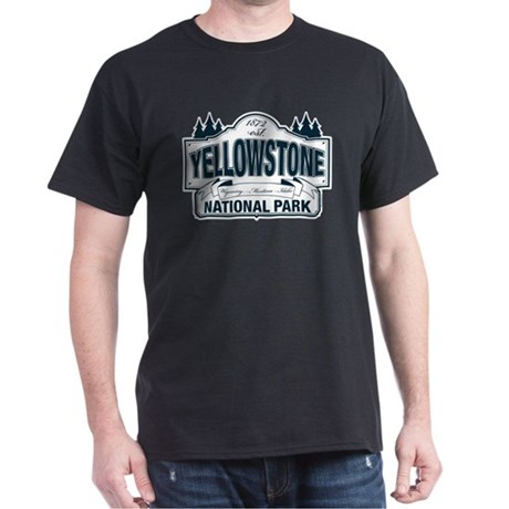 Yellowstone NP Blue Dark T-Shirt