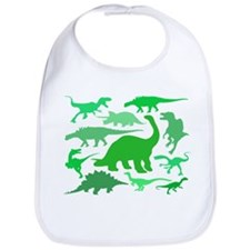 FUN! LOTS of DINOSAURS! Bib