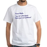 Dear Math, handwritten  Shirt