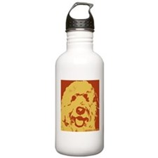 goldenDoodle_2tone_type1.jpg Water Bottle