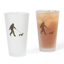 Unique Sasquatch Drinking Glass