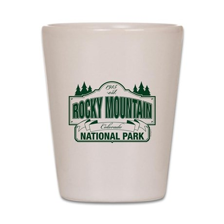 Rocky Mountain National Park Shot Glass