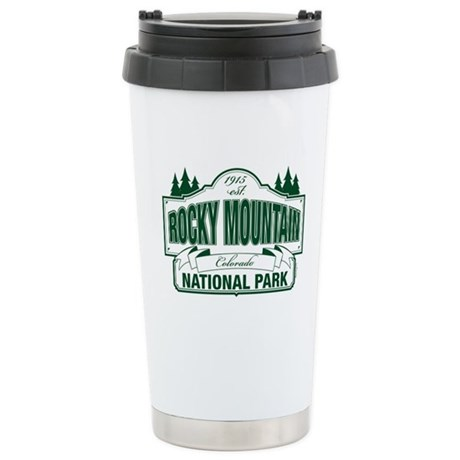 Rocky Mountain National Park Ceramic Travel Mug