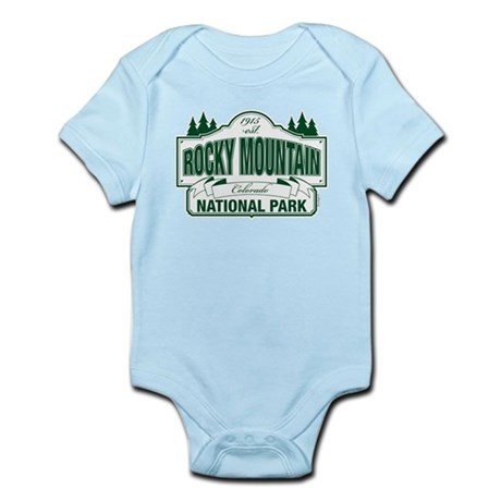 Rocky Mountain National Park Infant Bodysuit