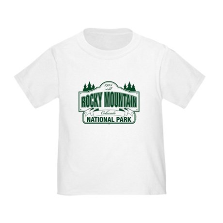 Rocky Mountain National Park Toddler T-Shirt