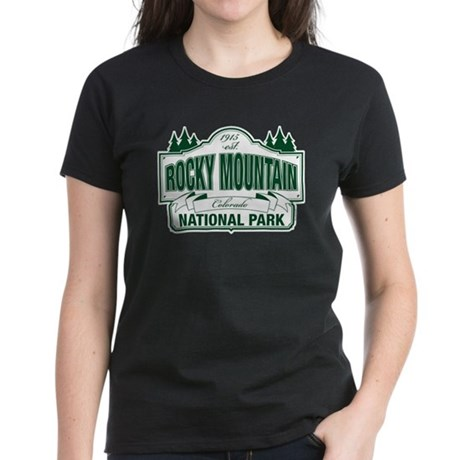 Rocky Mountain National Park Women's Dark T-Shirt