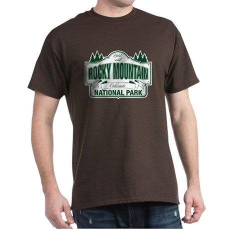 Rocky Mountain National Park Dark T-Shirt
