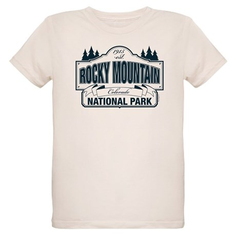 Rocky Mountain National Park Organic Kids T-Shirt