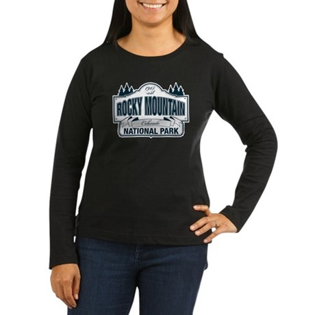 Rocky Mountain National Park Women's Long Sleeve D