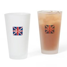 Cute British Drinking Glass