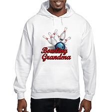 Bowling Grandma (strike).png Hoodie