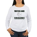 Wipe Without Us Women's Long Sleeve T-Shirt