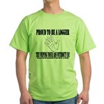 Wipe Without Us Green T-Shirt