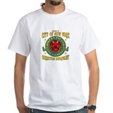 RIKERS_ISLAND_5x4_pocket T-Shirt
