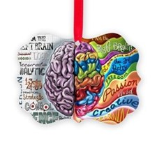 Cute Brain Ornament