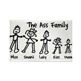Cute Parents Rectangle Magnet