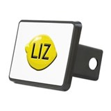 Liz Lemon Rectangular Hitch Cover