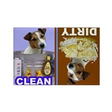 Funny Jack russell Rectangle Magnet