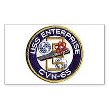 USS Enterprise CVN 65 Decal