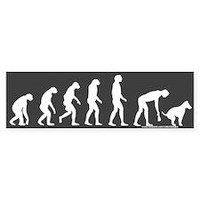 Rise of Dog Owner Dark Bumper Bumper Sticker