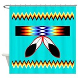 NATIVE AMERICAN SHOWER CURTAIN Shower Curtain