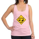 Opossum Crossing Racerback Tank Top