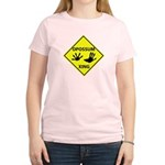 Opossum Crossing Women's Light T-Shirt