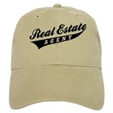 ATHLETE (Black) Baseball Cap for the Realtor