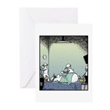 Snow Woman Boob job Greeting Cards (Pk of 10)