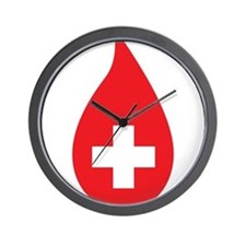 Donate Blood Wall Clock