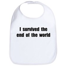 I Survived The End Of The World (II) Bib