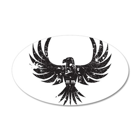 Eagle 35x21 Oval Wall Decal