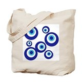 Mod Evil Eyes Tote Bag