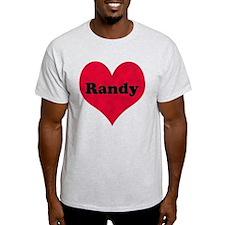 Randy Leather Heart T-Shirt