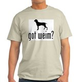 Weimaraner Mens Light T-shirts