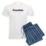Cynthia with Heart pajamas