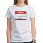 Big Jingleheimer Name Tag Women's T-Shirt