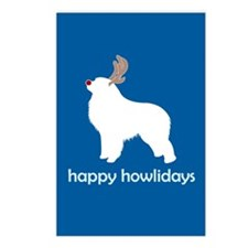 "G Pyrenees ""Happy Howlidays"" Postcards (Package of"